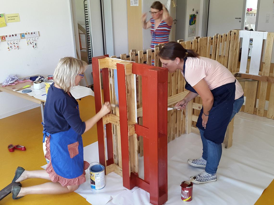 Außenküche Mit Kindern : Neue außenküche in der kita zauberbaum